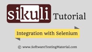 integrate sikuli with selenium