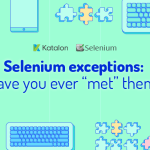 The Common Selenium Exceptions Cheat Sheet – Exceptions in Selenium