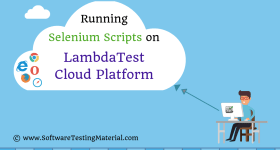 Running Selenium Scripts On LambdaTest Cloud | Automated Cross Browser Testing