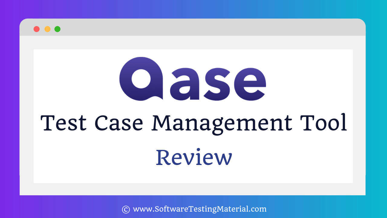 Qase Test Case Management Tool