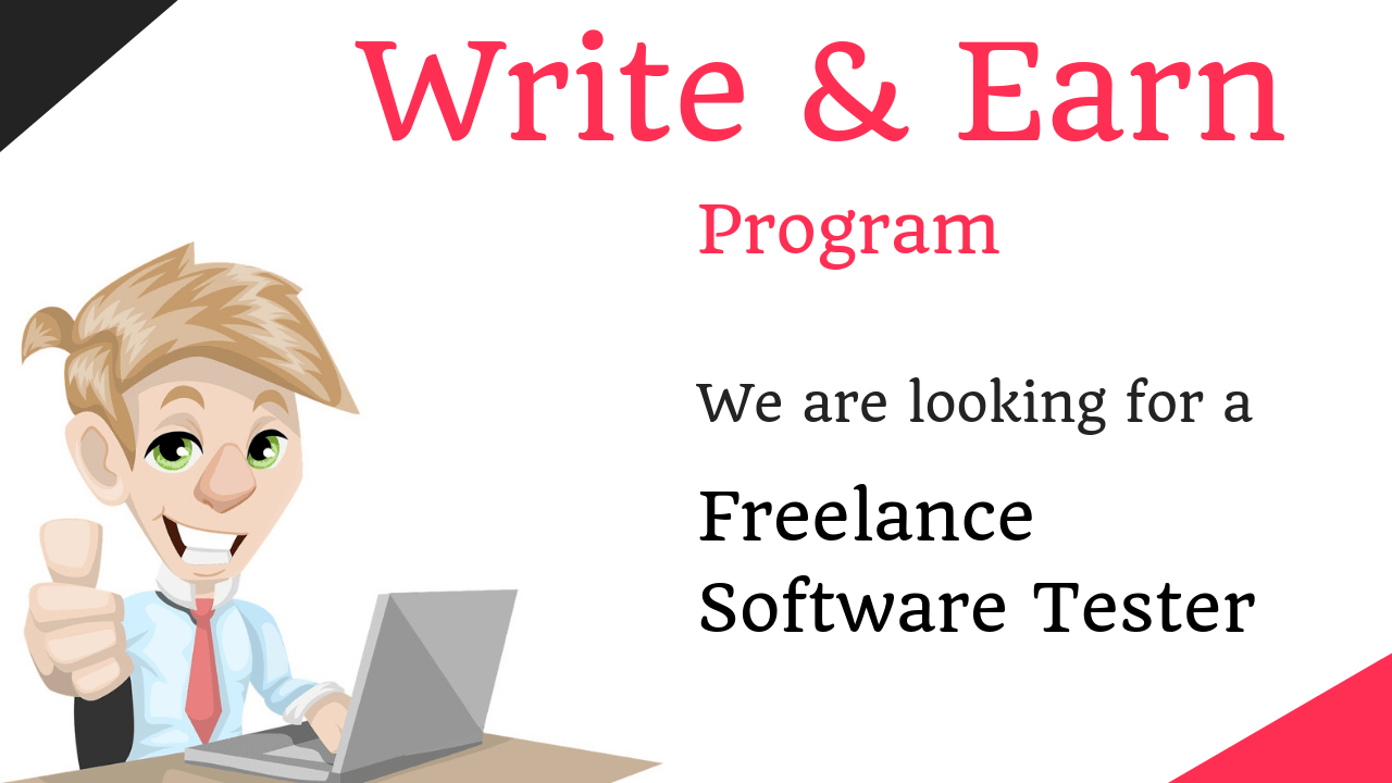 freelance software testing jobs