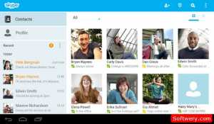 skype-for-android-softwery-com-3 صورة للبرنامج