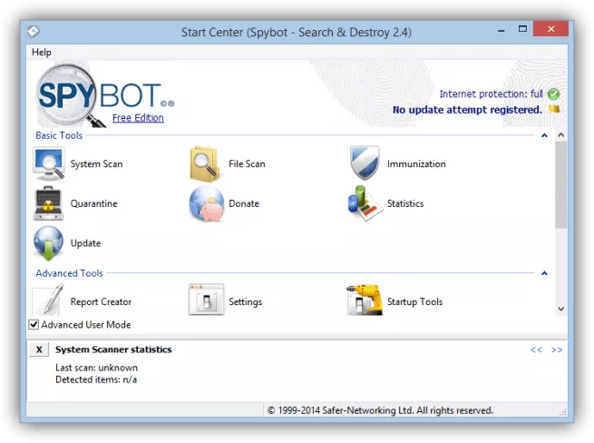 Spybot search and destroy tutorial foto 1