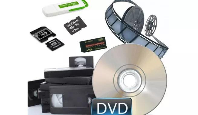 Soportes de video en el tiempo