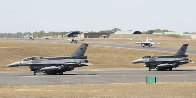 Singapore, Australia, US conduct first joint air drill in Northern Territory