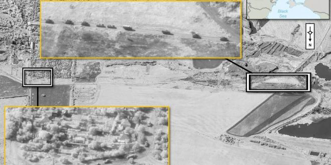 NATO: These new satellite images show Russian troops in and around Ukraine