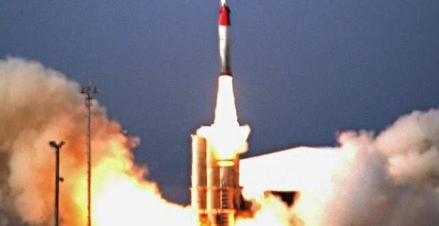 Arrow-2 Intercept Test Misses Target