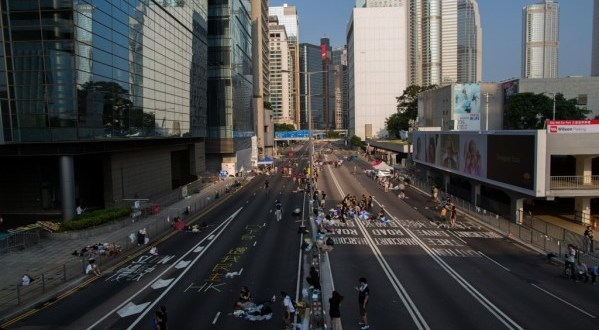 In battle to stop encroaching Chinese rule, protesters in Hong Kong ready for long haul