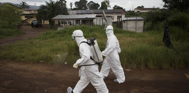 Fighting Ebola with Data, Satellites and Drones