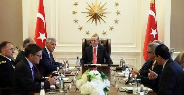 Hagel Meets Turkish Leaders To Discuss Fight Against Islamic State