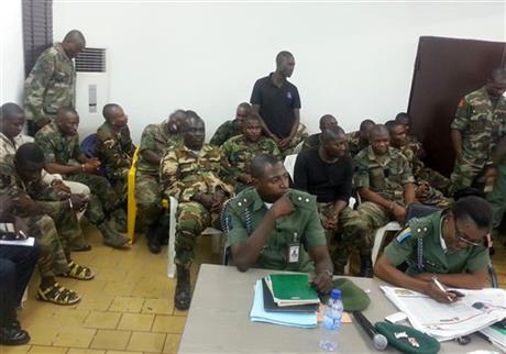 12 Nigerian troops sentenced to death for mutiny