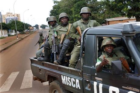 UN takes over C. African Republic peacekeeping