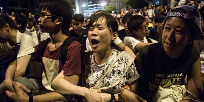 Hong Kong Students Lead Democracy Fight With Class Boycotts