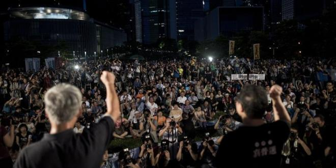 Hong Kong democracy movement feels Beijing's pressure