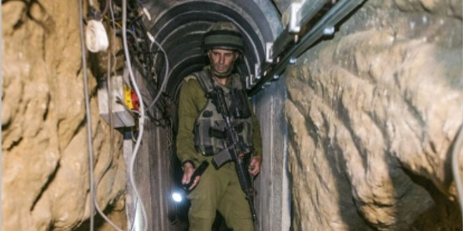 IDF steps up tunnel warfare training following Gaza war