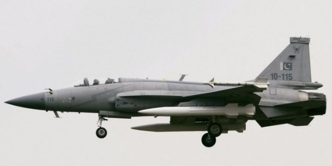 Images show JF-17 flying with CM-400AKG hypersonic ASM