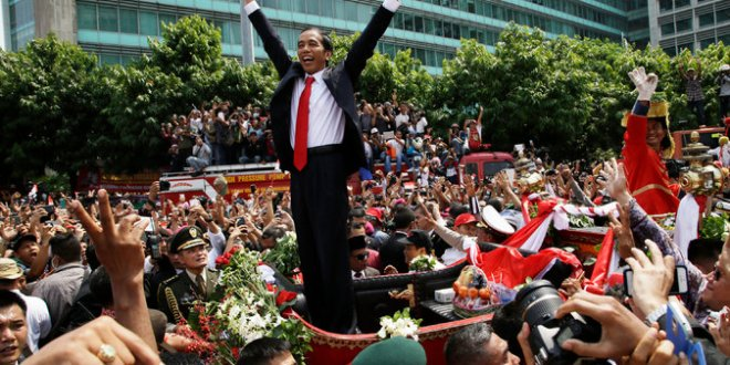 Joko Widodo Is Sworn In as Indonesian President