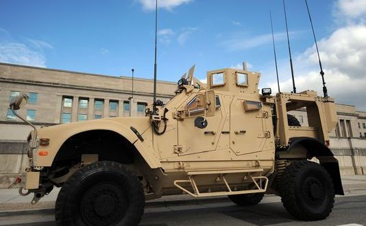 MRAP sale to Emirates may enable regional military force