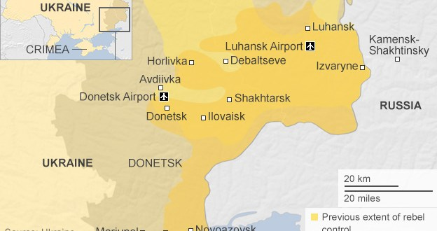 Ukraine rebels renew Donetsk airport offensive