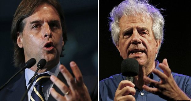Exit polls: Uruguay's presidential election goes to run-off
