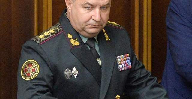 Ukrainian President Appoints National Guard Commander New Defense Minister