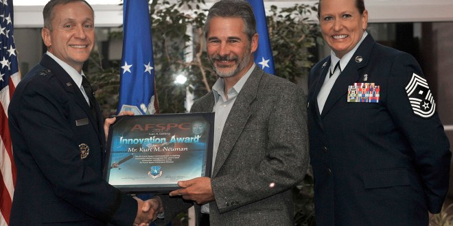 Ivan A. Getting Innovation Award presented to standout AFSPC civilian
