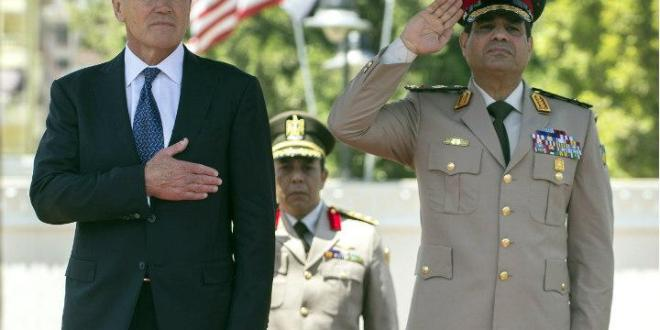 Egypt's Sisi Piles on to Hagel's Fractured Legacy