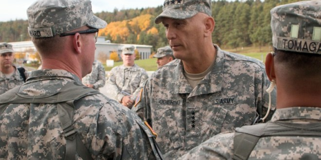 Odierno: No plans for further troop cuts in Europe