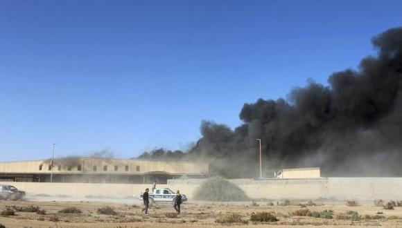 More air strikes near eastern Libyan oil port and border to Tunisia
