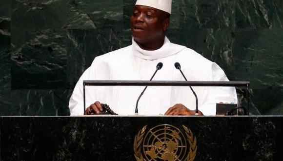 Gambia president returns home after reports of attempted coup