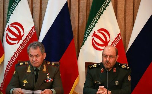 Russia Signs Military Cooperation Deal with Iran