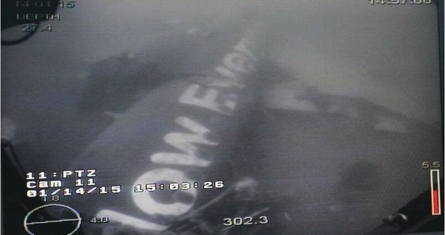 AirAsia plane 'fuselage located'