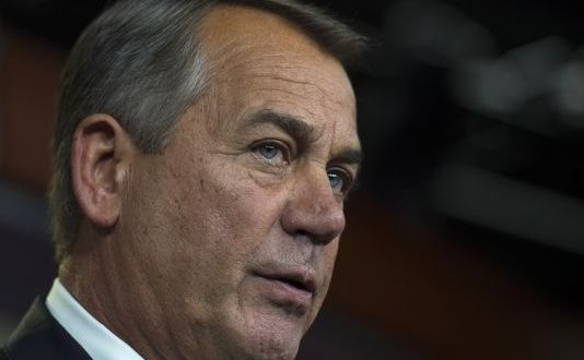 Boehner says he's willing to let DHS funding run out