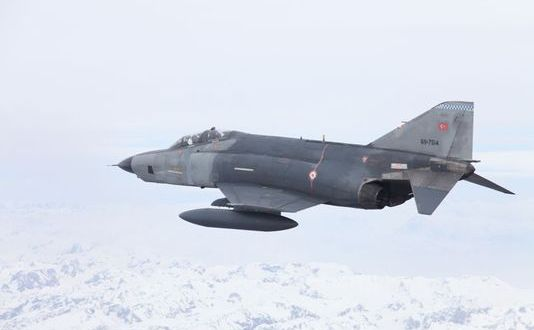 Two Turkish F-4s Crash, Four Pilots Killed