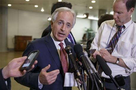 Facing militant threat, Corker shoulders matters of war
