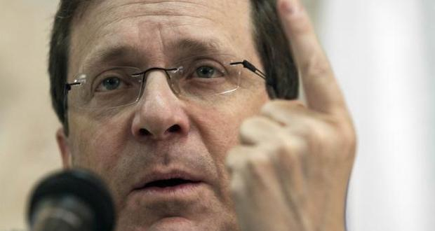 JERUSALEM: Leading election opponent to Netanyahu vows to reopen talks with Palestinians