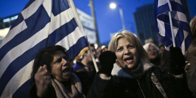 Rallies in Greece Ahead of Eurozone Bailout Talks