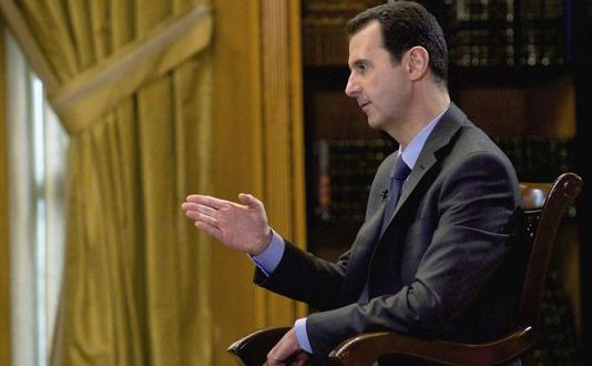 Syria's Assad dismissive of Kerry remark on negotiations