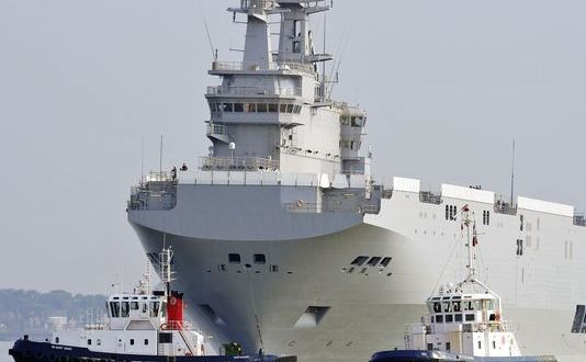 2nd Mistral for Russia Ends First Sea Trial