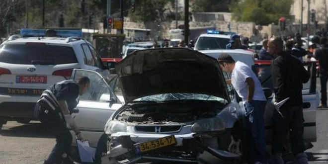 5 injured in car ramming attack in Jerusalem – Arab-Israeli Conflict