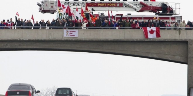 Canada's Highway of Heroes: The patriotic tradition lives on after Afghanistan