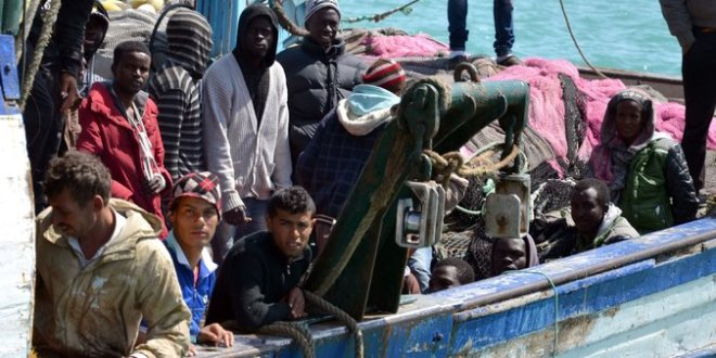Influx of Migrants Across Mediterranean Nears Record Levels