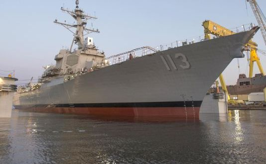 Flurry of Contracts Spark US Navy Shipbuilding