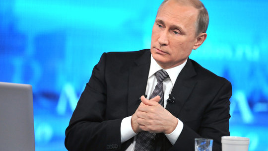Putin Takes Questions: More Economy, Less Ukraine