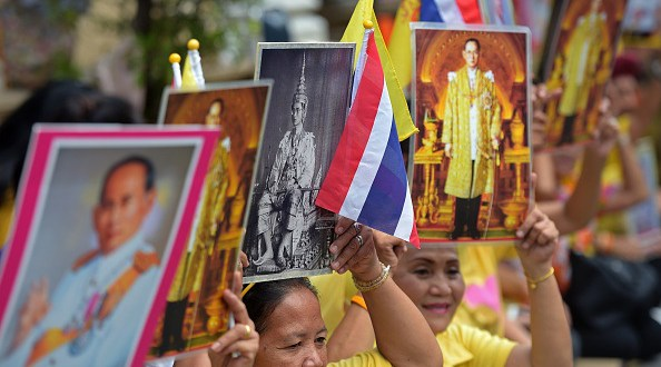 Thailand's 87-Year-Old King Makes Rare Appearance