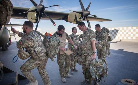 UK C-130J Ops Increase After Afghan Pullout