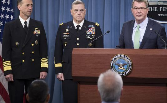 Milley, Richardson Tapped for Top DoD Posts