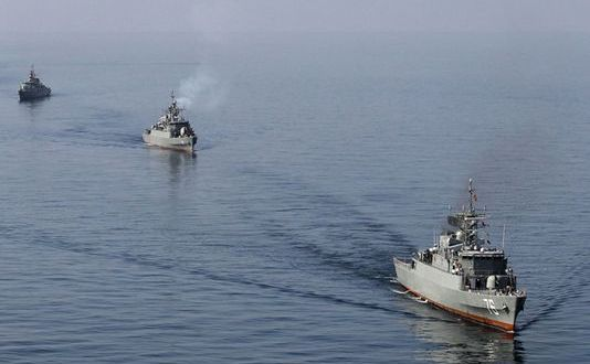 Iranians Fire Warning Shots at Ship In Gulf