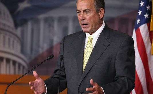 Boehner Drives Another Nail in AUMF's Coffin