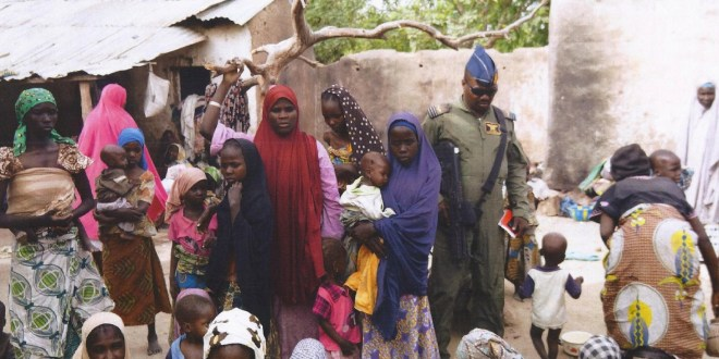 Nigerian soldiers rescue 150 more women and girls from Boko Haram